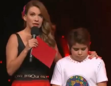 Cristian deja La Academia Kids