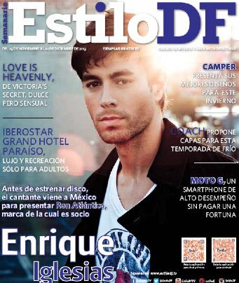 Enrique Iglesias en Estilo DF