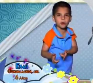 Esaú expulsado de La Academia Kids