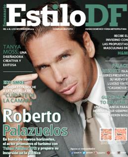 Roberto Palazuelos en revista Estilo DF