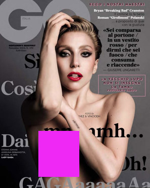 Lady Gaga en GQ