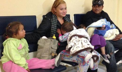 La hija de Larry Donas ya vive con otra familia