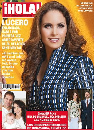 Lucero en Revista HOLA