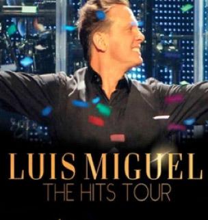 Fechas de The Hits Tour 2013 de Luis Miguel