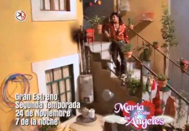 Promos segunda temporada María de Todos los Ángeles