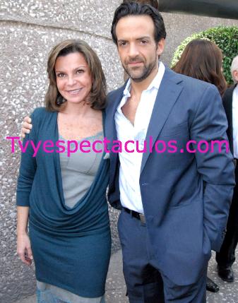 Mariana Garza y su esposo