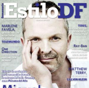 Miguel Bosé en estilo DF