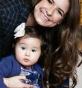 Paty Lu con su hija Inés
