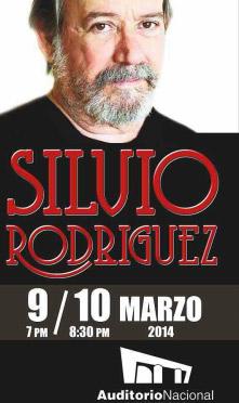 Silvio Rodríguez en auditorio nacional