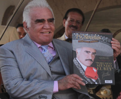 Presenta Vicente Fernández Pero sigo siendo el rey