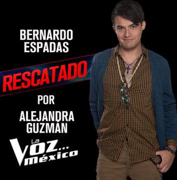 Los cuatro rescatados de La Voz México