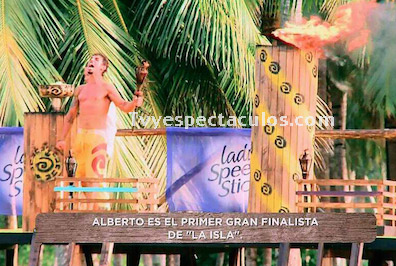 Alberto Guerra finalista de La Isla