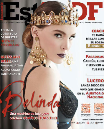 Belinda en estilo df tv y espect culos for Chismes del espectaculo en mexico