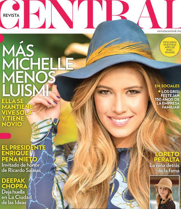 Michelle Salas en revista Central
