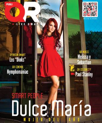 Dulce María en Revista QR