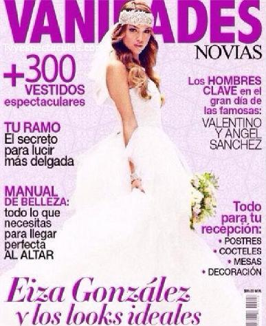 Eiza González en portada de Vanidades