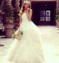Eiza González vestida de novia