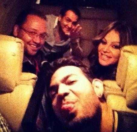 Jenni Rivera última foto en avión
