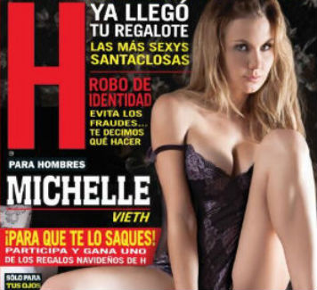 Michelle Vieth en revista H