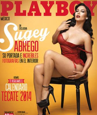 Sugey Abrego en Plaboy