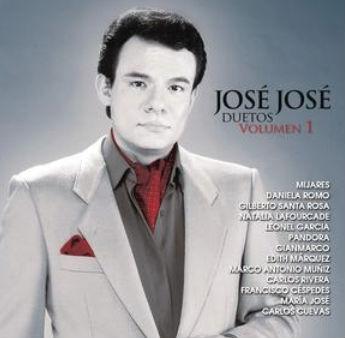 Portada José José Duetos Vol. 1