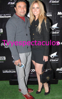 Raquel Bigorra y su esposo