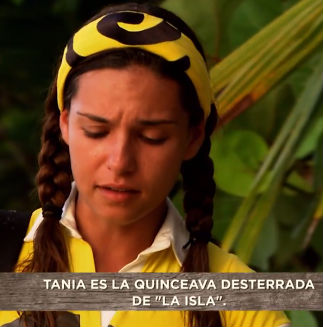 Tania Rincón desterrada de La Isla