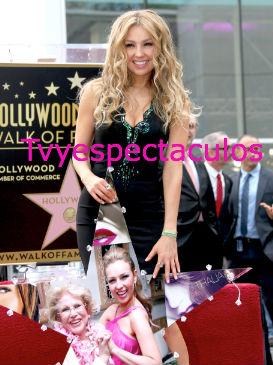 Estrella de Thalía en Hollywood