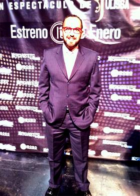 Mauricio Clark en la segunda temporada de Vaselina