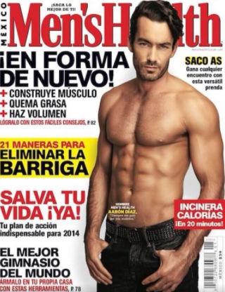 Aarón Díaz en revista Men's Health México