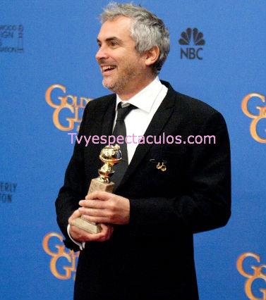 Alfonso Cuarón ganador del Globo de Oro