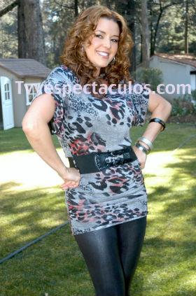 Alicia Machado villana de Mucho Corazón de Televisa