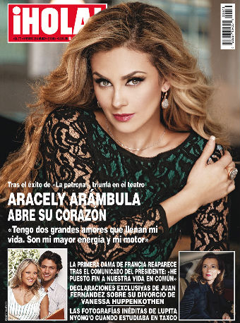 Aracely Arámbula abre su corazón en HOLA