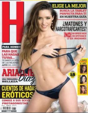 Ariadne Díaz en portada de H