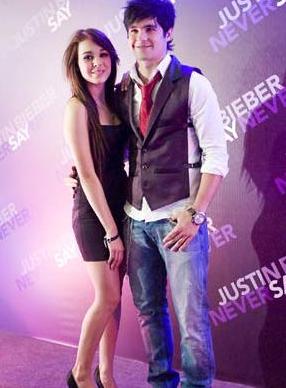 Danna Paola y Eleazar Gomez