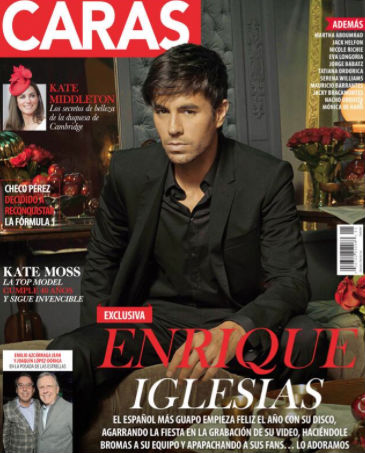 Enrique Iglesias en revista Caras