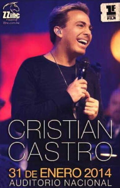 Cristian Castro en Auditorio Nacional