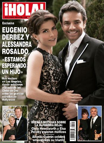 Alessandra Rosaldo y Eugenio Derbez esperan bebé
