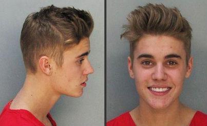 Imágenes de la liberación de Justin Bieber