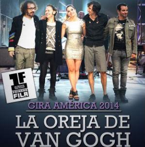 La oreja de Van Gogh en Auditorio Nacional 30 de marzo