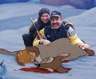 Lucero de cacería con Bambi