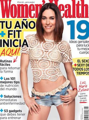 Luz María Zetina en Women´s Health