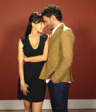 Erick Elías y Esmeralda Pimentel protagonistas de Pasión de Amor