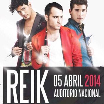 Reik en Auditorio Nacional 5 de abril