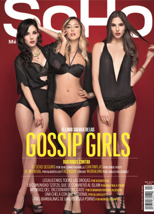 Las chicas de Gossip Girls Acapulco en revista SoHo