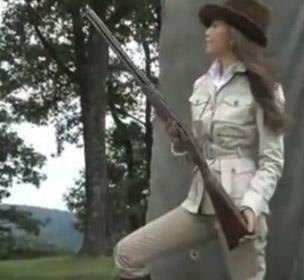 Thalia como cazador