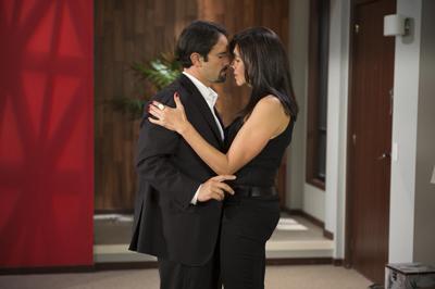Pablo Valentín y Anilú Pardo en casting de Pasión de Amor