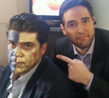 Burro y Guillermo Schutz