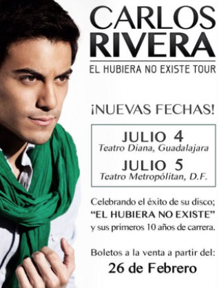 Cartel Carlos Rivera