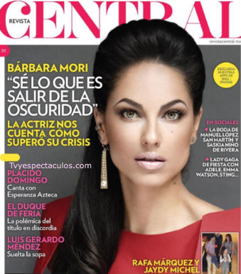 Bárbara Mori en revista Central